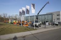 Unimog Tour 2014 ve Wörthu nad Rýnem.