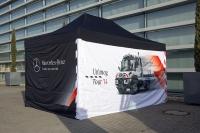 Startschuss für die Unimog Tour 2014 in Wörth am Rhein