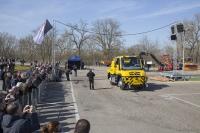 Unimog U 423 dvoucestné vozidlo, Zagro
