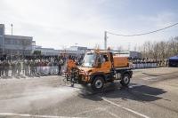 Unimog U 423, Kommunal WD, Leistikow Hochdruck Reinigungs- und Kanalspülgerät