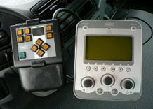 Systém ovládání zimní výbavy v kabině