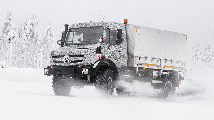 Vysoký standard kvality: Na každý Unimog aplikuje Mercedes-Benz při vývoji, testování a produkci přísné kvalitativní požadavky.